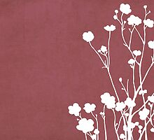 Buttercups in Pink & White by Elle Campbell