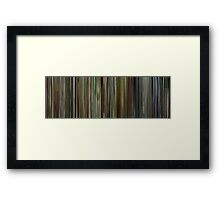 Moviebarcode: Son of Rambow (2007) Framed Print