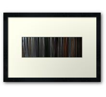 Moviebarcode: Rambo / First Blood (1982) Framed Print