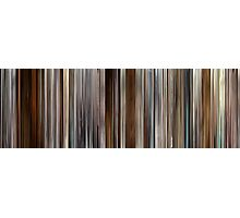 Moviebarcode: Precious (2009) Photographic Print