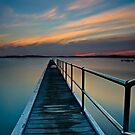 Sunset Spectacular Belmont Wharf by bazcelt