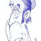 Tom Waits by Stef Vanstiphout II