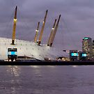 Millennium Dome Panorama by Lea Valley Photographic