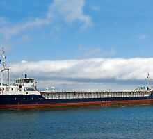MV Shetland Trader ~ Teignmouth by Susie Peek