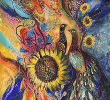 The Sunflower... visit www.elenakotliarker.com to purchase the original by Elena Kotliarker