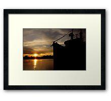GHOST SHIP~ Framed Print