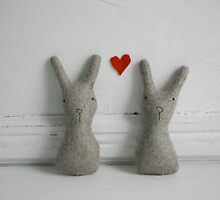 Bunny love by caracarmina