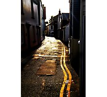 Back Street Photographic Print