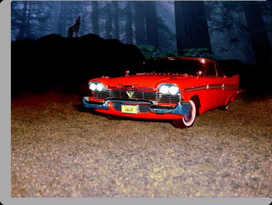 "Plymouth 1958 ""Christine"" by ALIANATOR"