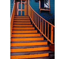 Welcome Home Staircase Photographic Print