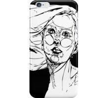 Psychedelic Self B&W- By Amit Grubstein iPhone Case/Skin