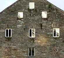 Irish Barn Windows  by Fara