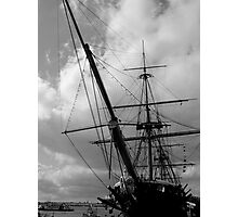 HMS Warrior Portsmouth UK Photographic Print