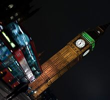 Big Ben Bus by Mark Hughes