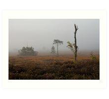 Holt Heath misty morning Art Print