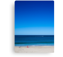 Boxing Day @ the beach Canvas Print