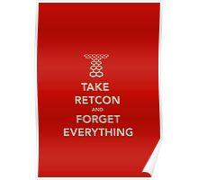 Take Retcon Poster