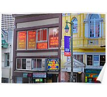 North Beach Fortune Teller Poster
