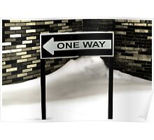 One Way out Poster