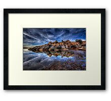 Bursting Framed Print