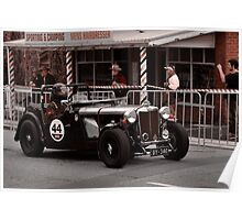 MG TC Holden Special 1947 Poster