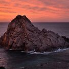 Sunset at Sugar Loaf Rock by Robyn Forbes