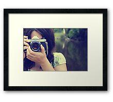 Capturing Life... Framed Print