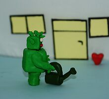 GREEN MAN WIT HEART by jackinson