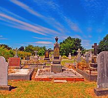 Cemetery at Westbury by Mark Whittle