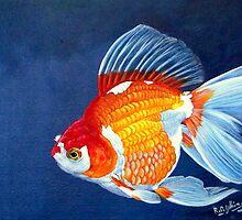 Ryukin Goldfish by Robert David Gellion