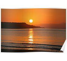 September sunrise Poster