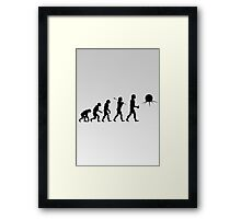 Full Evolution: Toclafane! Framed Print