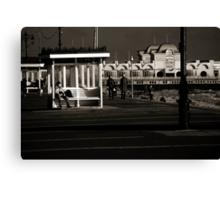 southsea pier Canvas Print