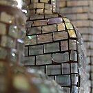 Mosaic Glass Decanter by Guatemwc
