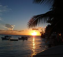 Barbados sunset2 by scaff
