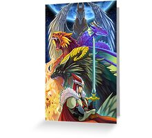 The Dragonmaster Greeting Card