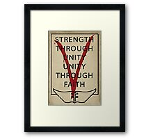 The Only Verdict Is Vengeance Framed Print
