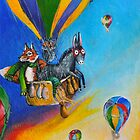 hot air balloon adventure by pjan3202