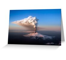 etna Greeting Card