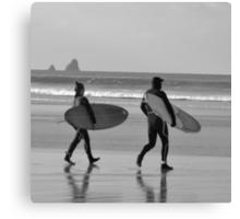 Surfs up! Canvas Print