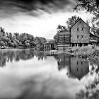 Watermill in Jelka by Zoltán Duray