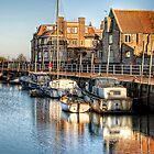 Blakeney Quay, North Norfolk coast by mikemUK
