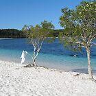 Lake Mackenzie Fraser Island Australia by Alison Murphy