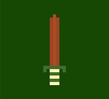 8-Bit Sword by Duffkiligan