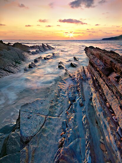 Worbarrow Bay by outwest photography.co.uk