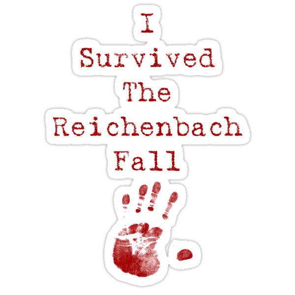I Survived The Reichenbach Fall by claudiasana