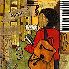 Urban Music Student by © Angela L Walker