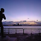 Johnnie Walker Statue, Liverpool by Michelle McMahon