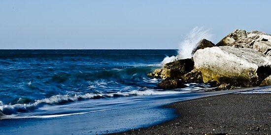 Blue Splash by Marco Borzacconi
