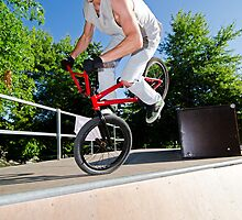 BMX Bike Stunt by homydesign